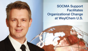 CEO of WeylChem US, Philippe Robin, Featured on Cover of Fall 2016 SOCMA Newsletter