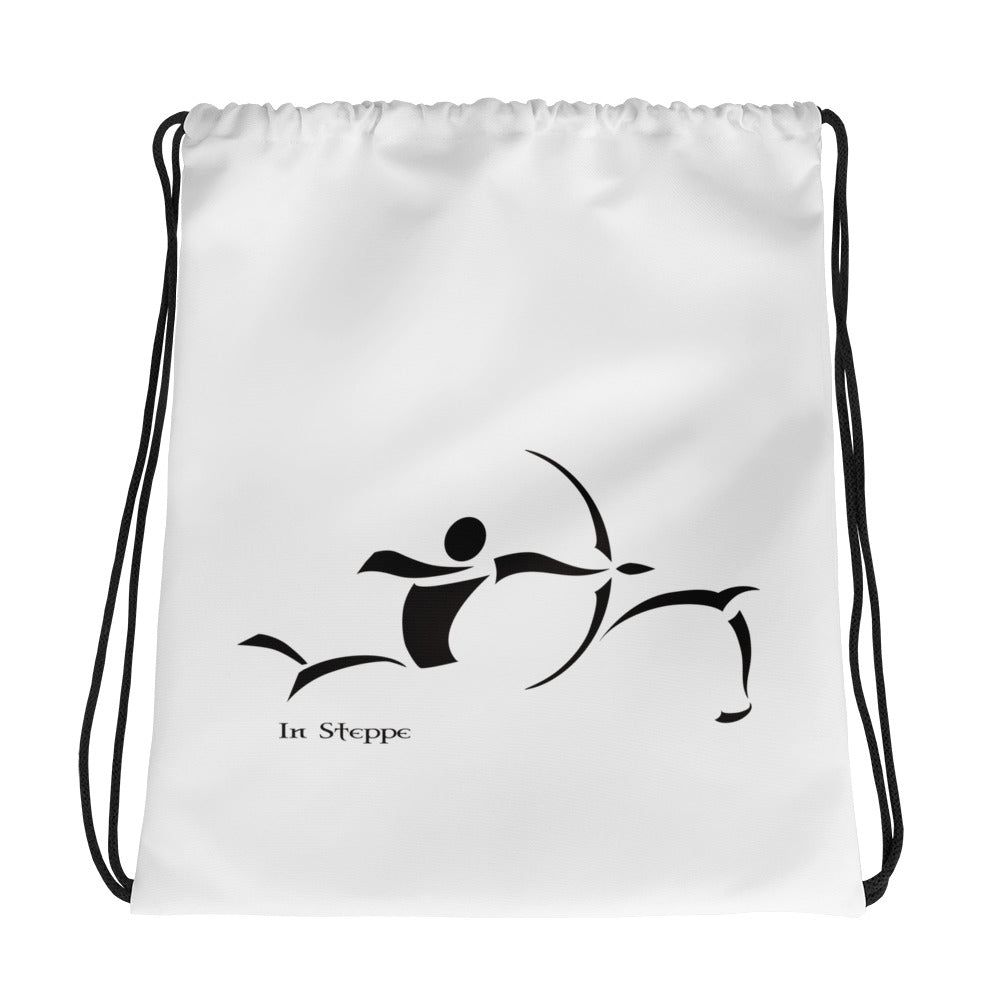 In Steppe Drawstring bag
