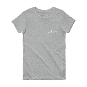 """In Steppe"" Short Sleeve Women's T-shirt"