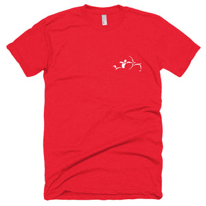 """In Steppe"" Horseback Archery Poly Cotton T-Shirt"