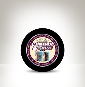 Cover Your Gray Control & Shine Black 1.2 oz