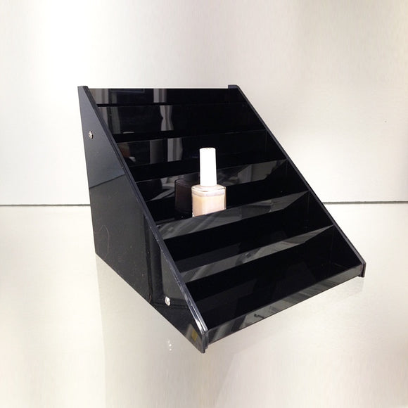 Acrylic Nail Polish Display Stand - Black NPS-36BL - BeautyzoneSupply
