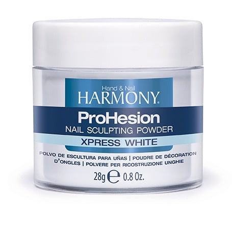 Harmony ProHesion Nail Powder Xpress White-Beauty Zone Nail Supply