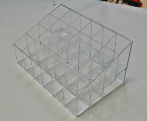 Nail art color 24 bottle organizer angle plastic #6408