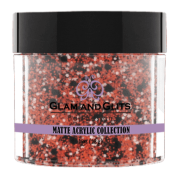 Glam & Glits Matte Acrylic Powder 1 oz Pumpkin Pie-MAT628