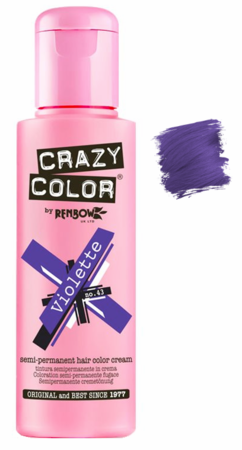 Crazy Color vibrant Shades -CC PRO 43 VIOLETTE 150ML-Beauty Zone Nail Supply