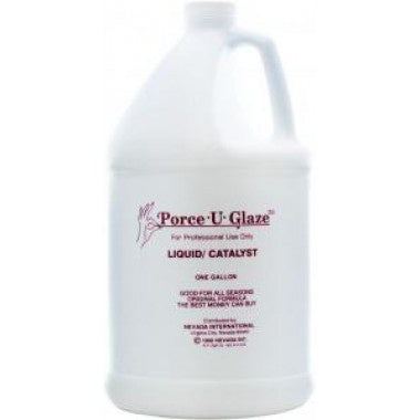 Porce-U-Glaze Liquid Case 4 Gallon-Beauty Zone Nail Supply