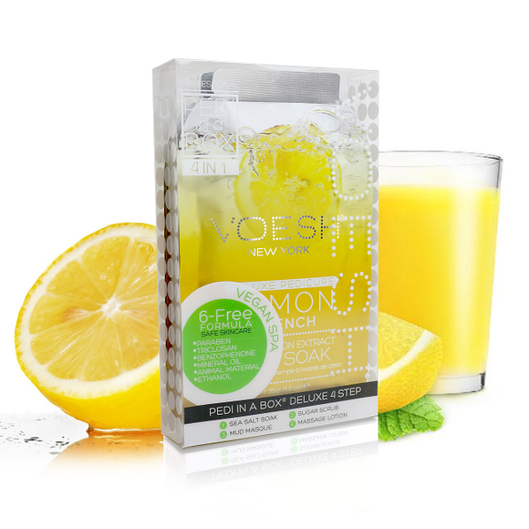 Voesh Lemon Quench 4 Step Case 50 pack