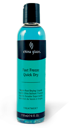 China Glaze Fast Freeze Quick Dry 4Oz