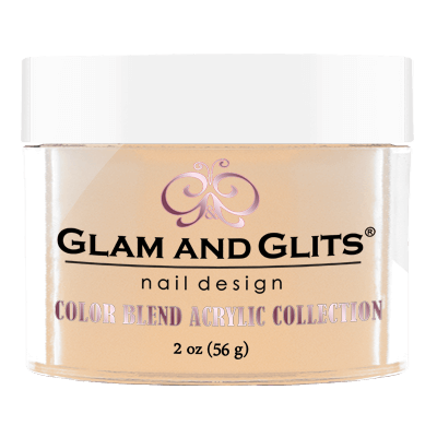 Glam & Glits Acrylic Powder Color Blend Extra Caramel 2 Oz- Bl3013