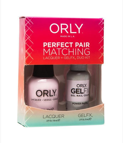 Orly Duo Power Pastel (Lacquer + Gel) .6oz / .3oz 31223-Beauty Zone Nail Supply