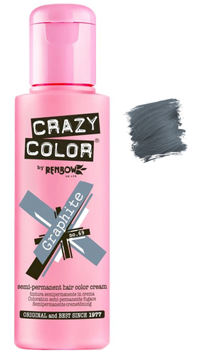 Crazy Color vibrant Shades -CC PRO 69 GRAPHITE 150ML-Beauty Zone Nail Supply