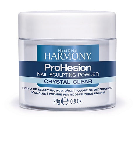 Harmony ProHesion Nail Powder Crystal Clear-Beauty Zone Nail Supply