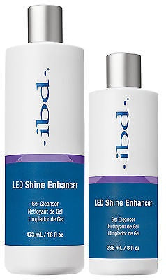 IBD LED SHINE CLEANSER 8OZ #