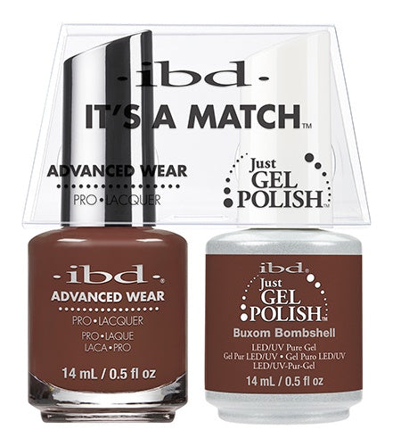 ibd Advanced Wear Color Duo Buxom Bombshell 1 PK-Beauty Zone Nail Supply