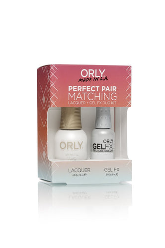 Orly Duo White Tips ( Lacquer + Gel) .6oz / .3oz