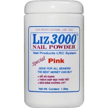 LIZ 3000 POWDER PINK 1.5 LBS #37-Beauty Zone Nail Supply