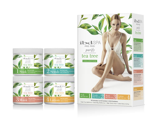 IBD Spa Tea Tree Intro Kit 4oz - 4pc