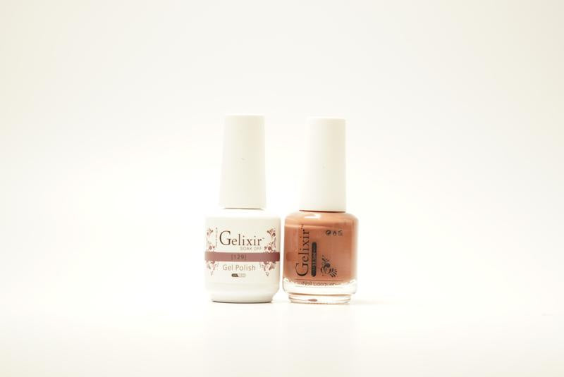 Gelixir Duo Gel & Lacquer 1 PK #129-Beauty Zone Nail Supply