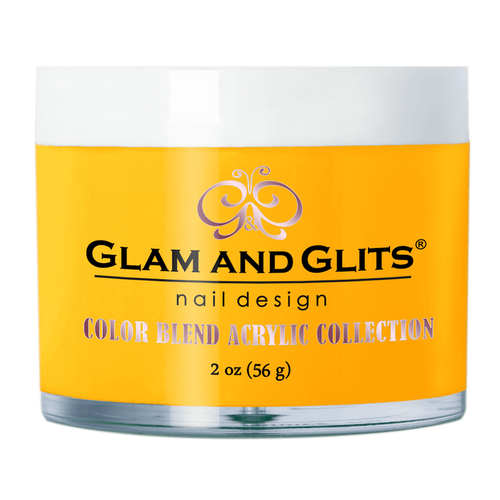 Glam & Glits Acrylic Powder Color Blend (Cream) 2 oz Glow Up - BL3068-Beauty Zone Nail Supply
