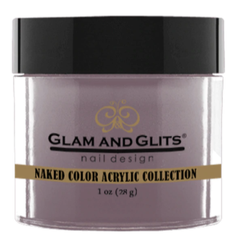 Glam & Glits Naked Color Acrylic Powder (Cream) 1 oz Mauve Over, My Turn- NCAC416-Beauty Zone Nail Supply