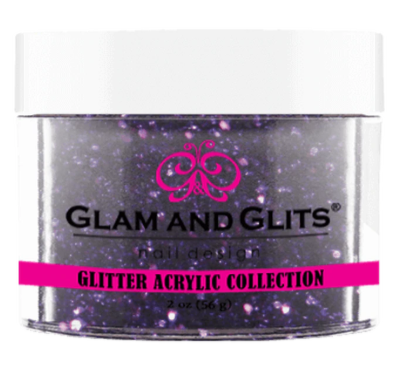 Glam & Glits Glitter Acrylic Powder (Glitter) 2 oz Light Purple - GAC29