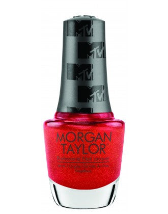 Gelish Morgan Taylor TOTAL REQUEST RED - RED SHIMMER 15 mL | .5 fl oz #3110387-Beauty Zone Nail Supply