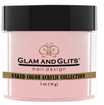 Glam & Glits Naked Color Acrylic Powder (Cream) 1 oz Made in Sweet - NCAC403-Beauty Zone Nail Supply