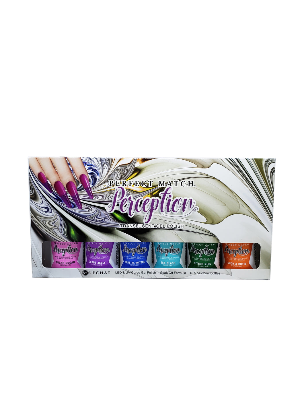 Perfect Match Perception Translucent GEL SET 01-Beauty Zone Nail Supply