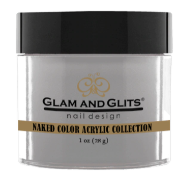 Glam & Glits Naked Color Acrylic Powder (Cream) 1 oz Gray Gray - NCAC437