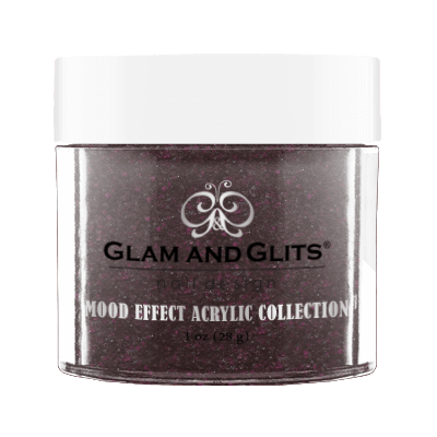 Glam & Glits Mood Acrylic Powder (Glitter) 1 oz Diva In Distress - ME1021-Beauty Zone Nail Supply