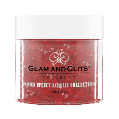 Glam & Glits Mood Acrylic Powder (Glitter) 1 oz No Regreds - ME1026-Beauty Zone Nail Supply
