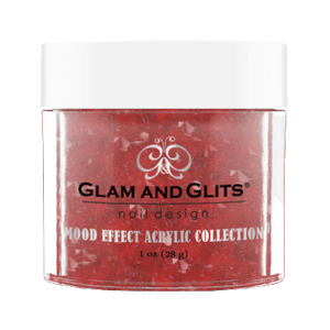 Glam & Glits Mood Acrylic Powder (Glitter) 1 oz  No Regreds  - ME1026