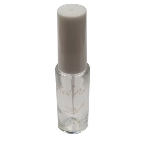 Empty Nail Art Bottle Clear NAB10