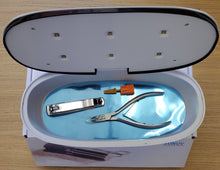 Load image into Gallery viewer, UV LED ionica Sterilizer Box For nail Tools #LUB06