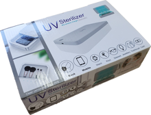 Load image into Gallery viewer, UV Sterilizer Box With Wireless Charge U20 LED