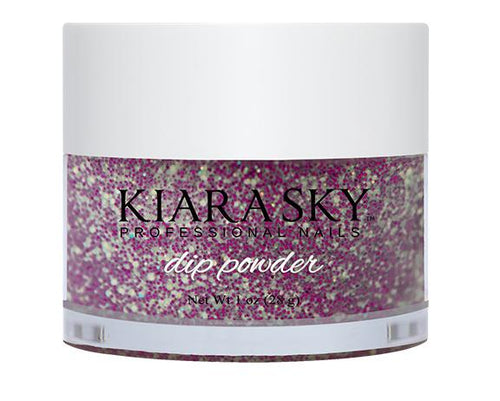 Kiara Sky DIP POWDER -D430 PURPLE SPARK