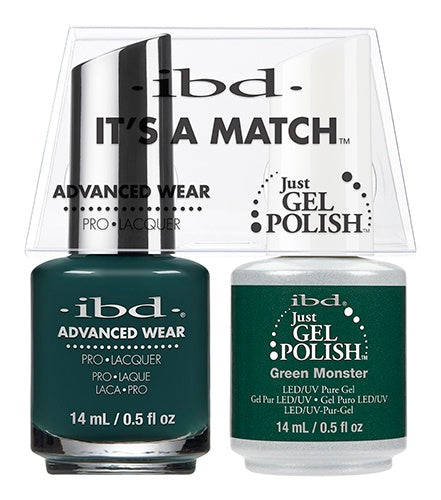 ibd Advanced Wear Color Duo Green Monster 1 PK-Beauty Zone Nail Supply