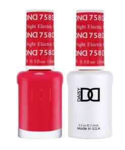 DND Duo Gel & Lacquer Electric Night #758