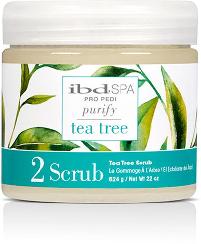 Ibd Spa Scrub – Tea Tree Purifying 14 oz