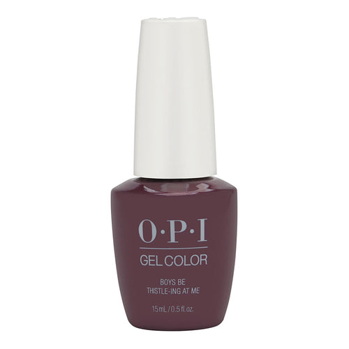 OPI Gelcolor BOYS BE THISTLE-ING AT ME #GC U17