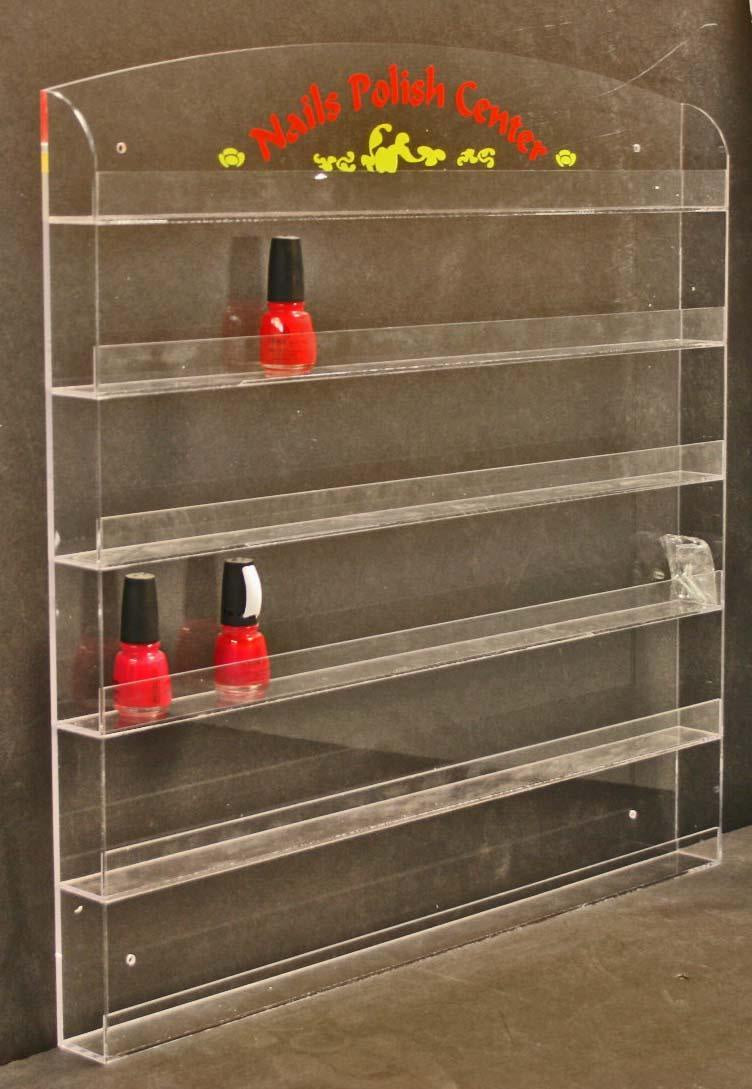 Wr022 wall rack 96 bottle kl - BeautyzoneNailSupply