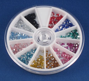 12 color rhinestone arwc12 #6952 - BeautyzoneNailSupply