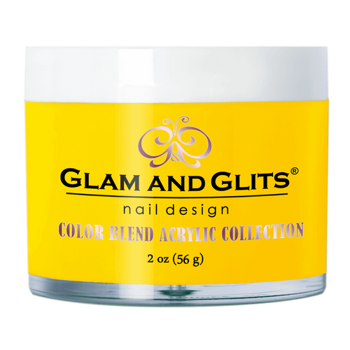 Glam & Glits Acrylic Powder Color Blend (Cream) 2 oz Bee My Honey - BL3076-Beauty Zone Nail Supply