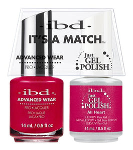 ibd Advanced Wear Color Duo All Heart 1 PK-Beauty Zone Nail Supply