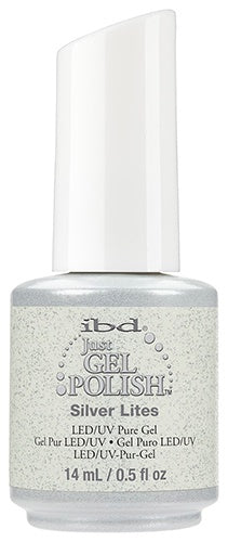 Just Gel Polish Silver Lites 0.5 oz-Beauty Zone Nail Supply
