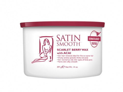 Satin Smooth Scarlet Berry Wax #Ssw14Sbg