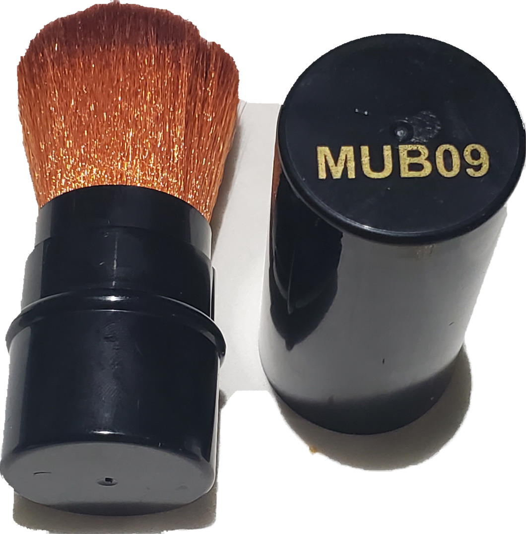 Mini Retractable Dust Brush MUB09 (Black Color)-Beauty Zone Nail Supply