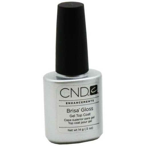 Cnd Brisa Gloss Clear Top Coat 0.5 oz