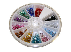 rhinestones tear drop 12 color #6269-Beauty Zone Nail Supply